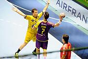 DESCRIZIONE : Handball Homme D1 Championnat de France <br /> GIOCATORE : Guillaume Gille<br /> SQUADRA : Dunkerque<br /> EVENTO : D1<br /> GARA : Nantes Dunkerque<br /> DATA : 09 10 2013<br /> CATEGORIA : Handball Homme<br /> SPORT : Handball<br /> AUTORE : JF Molliere <br /> GALLERIA : France Hand 2013-2014 Action<br /> FOTONOZIA : Hand <br /> Predefinita :