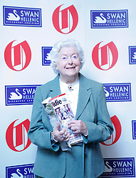 © under license to London News Pictures. 10/02/11 2011 June Spencer from the Archers at Oldie of the Year Awards at Simpsons On The Strand. Photo credit should read: Olivia Harris/ London News Pictures