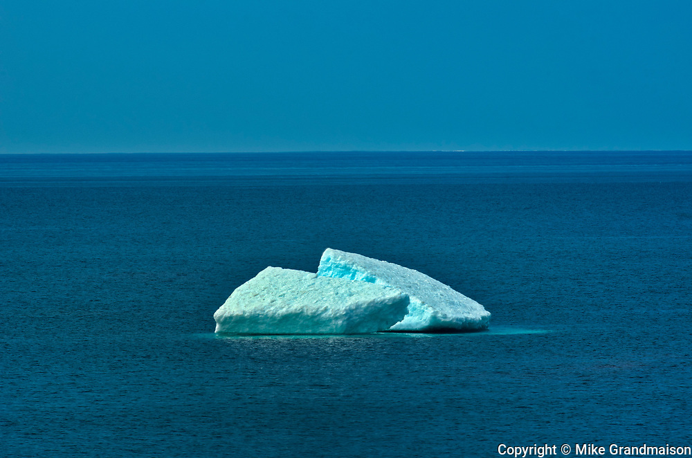 Ice on Lake Superior<br />