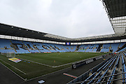 Before the Sky Bet League 1 match between Coventry City and Bury at the Ricoh Arena, Coventry, England on 13 February 2016. Photo by Chris Wynne.
