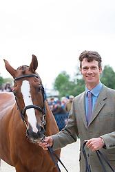 Fox Pitt William, (GBR), Chilli Morning<br /> First Horse Inspection<br /> Mitsubishi Motors Badminton Horse Trials - Badminton 2015<br /> © Hippo Foto - Libby Law<br /> 06/05/15