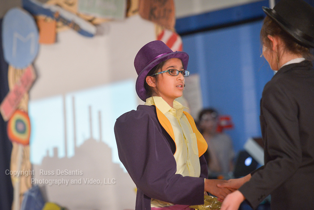 The Pingry School in Short Hills, put on its production of Willy Wonka Junior in the school gym. /Russ DeSantis Photography and Video, LLC