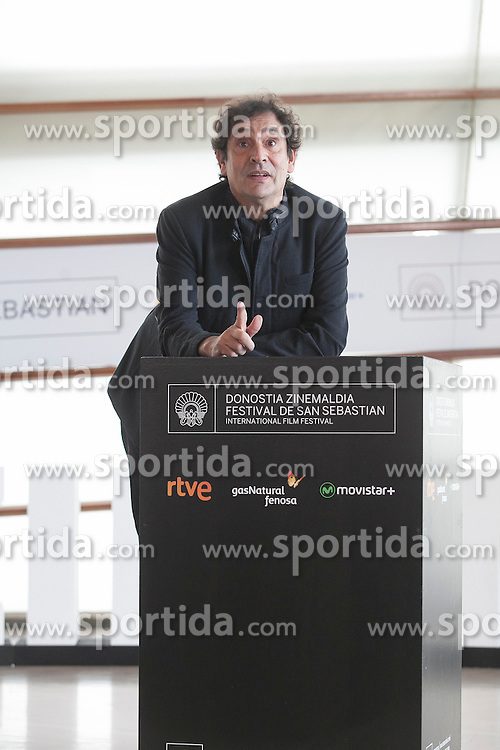 23.09.2015, Madrid, San Sebastian, ESP, San Sebastian International Film Festival, im Bild Movie director Agusti Villaronga poses during `El rey de la Habana&acute; film presentation // during the San Sebastian International Film Festival in Madrid in San Sebastian, Spain on 2015/09/23. EXPA Pictures &copy; 2015, PhotoCredit: EXPA/ Alterphotos/ Victor Blanco<br /> <br /> *****ATTENTION - OUT of ESP, SUI*****