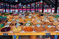 Albanie, Tirana, marché Markata e Peshkut // Albania, Tirana, Markata e Pishkut market