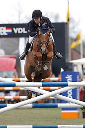 Voorn Vincent (NED) - Gestion Priamus Z <br /> Nederlands Kampioenchap Springen Mierlo 2013<br /> © Dirk Caremans