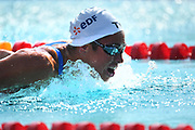 Margaux Fabre (FRA) competes on Women's 100 m Butterfly during the French Open 2018, at Aquatic Center Odyssée in Chartres, France on July 7th to 8th, 2018 - Photo Stephane Kempinaire / KMSP / ProSportsImages / DPPI