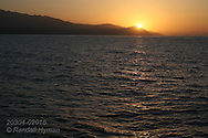 Sunset on Sea of Cortez, Baja California Sur, Mexico
