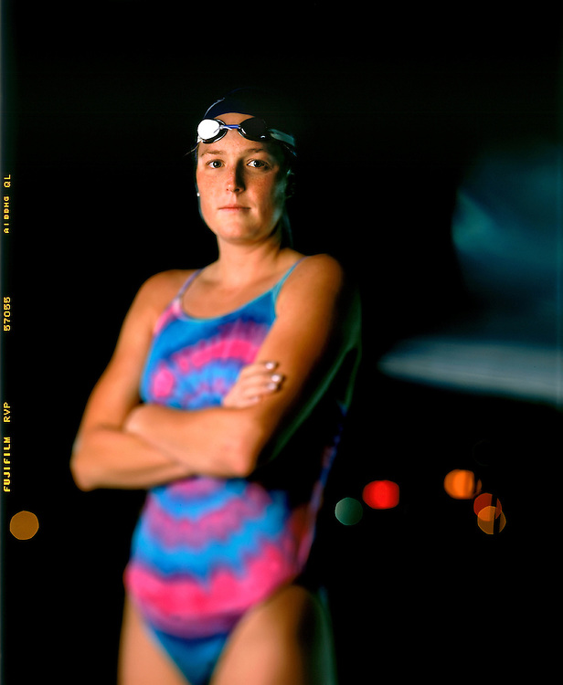 staff photo - Preston C. Mack<br /> <br /> Olympic Portrait<br /> Laura Rebeck , Triathete