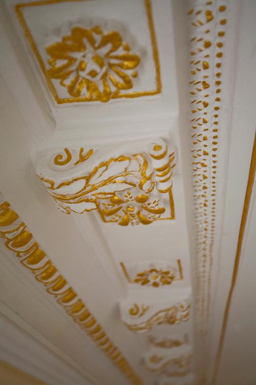 Belem_PA, Brasil..Na foto detalhe interno do Palacete Bolonha em Belem, Para...In the photo internal detail of Bolonha Palace, in Belem, Para...Foto: JOAO MARCOS ROSA / NITRO
