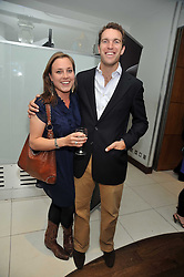 NICHOLAS VAN CUTSEM and his fiance ALICE HADDEN-PATON at the launch of the 2009 Derby Festival in the presence of HRH Princess Haya of Jordan in aid of the charity Starlight held at the Kensington Roof Gardens, 99 Kensington High Street, London W8 on 12th May 2009.