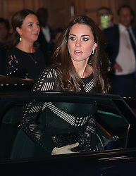 Catherine, Duchess of Cambridge attends the Action on Addiction Autumn Gala Evening at L'Anima in London, UK. 23/10/2014<br /> BYLINE MUST READ : JAMESY/GOTCHA IMAGES<br /> <br /> Copyright by © Gotcha Images Ltd. All rights reserved.<br /> Usage of this image is conditional upon the acceptance <br /> of Gotcha Images Ltd, terms and conditions available at<br /> www.gotchaimages.com