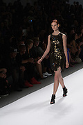 A shimmery dress by Richard Chai at the Spring 2013 Mercedes Benz Fashion Week show in New York.