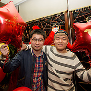 13.02.2018.<br /> University of Limerick International Office Chinese New Year Celebrations, Chungs Chinese Cuisne Castletroy. <br />  Pictured at the event were UL International students, Cong Xing and Qing Feng Sun. Picture: Alan Place