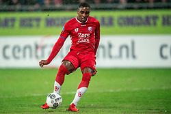 24-01-2018 NED: FC Utrecht - Feyenoord, Utrecht<br /> Utrecht speelt 1-1 gelijk tegen Feyenoord / FC Utrecht forward Gyrano Kerk #7 zet door en scoort de 1-1