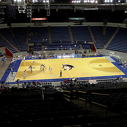 November 27, 2011; New Orleans, LA; A general view of action during the second half of a game between the New Orleans Privateers and the Alcorn State Braves at the Lakefront Arena. New Orleans defeated Alcorn St. 63-56. Mandatory Credit: Derick E. Hingle-US PRESSWIRE