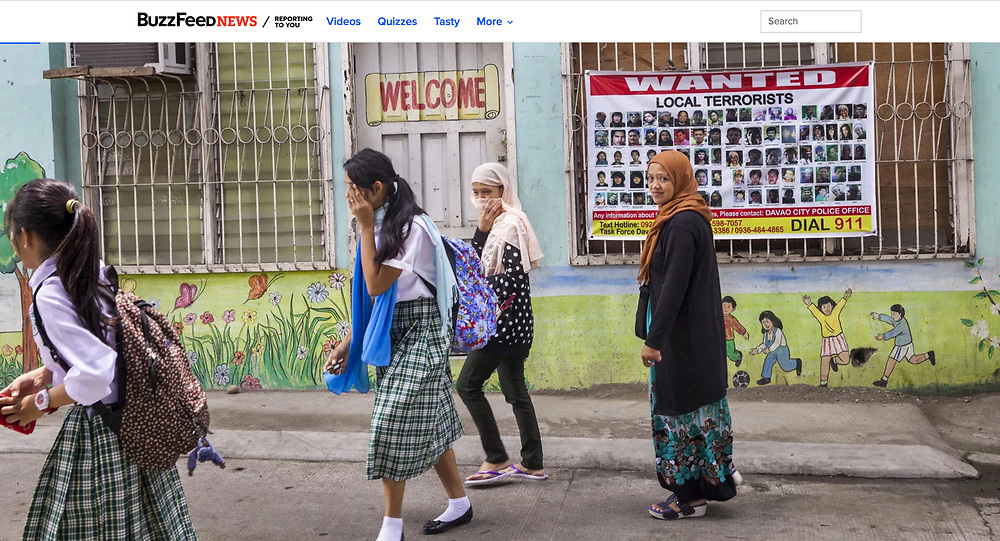 The Rise of ISIS in Mindanao, Southern Philippines for BuzzFeed News.<br />