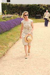 VISCOUNTESS LINLEY at a luncheon hosted by Cartier for their sponsorship of the Style et Luxe part of the Goodwood Festival of Speed at Goodwood House, West Sussex on 4th July 2010.