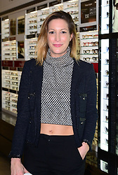 Laura Pradelska attends as Vision Express and Heston Blumenthal launch 'Heston: SS14' eyewear range at Vision Express, 180-183 Oxford Street, London, United Kingdom. Tuesday, 25th March 2014. Picture by Nils Jorgensen / i-Images