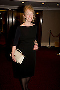 LINDSAY DUNCAN, The Laurence Olivier Awards, The Grosvenor House Hotel. Park Lane. London. 8 March 2009