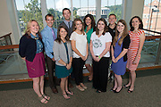 Allen Student Help Center Grad Assistants. © Ohio University / Photo by Ben Siegel