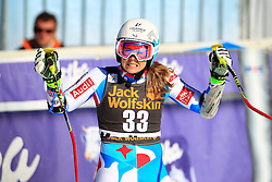 21.02.2015, Pohorje, Maribor, SLO, FIS Weltcup Ski Alpin, Maribor, Riesenslalom, Damen, 2. Lauf, im Bild Anne-Sophie Barthet (FRA) // Anne-Sophie Barthet of France after the 2nd run of ladie's Giant Slalom of the Maribor FIS Ski Alpine World Cup at the Pohorje in Maribor, Slovenia on 2015/02/21. EXPA Pictures © 2015, PhotoCredit: EXPA/ Erwin Scheriau