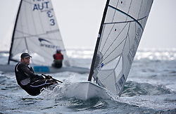 Arenal Training Camp regatta, Palma de Mallorca,Spain,Dinghy sailing,olympic,UK olympic star Ben ainslie training.