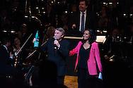 ©www.agencepeps.be - 08042014 - Octaves de la musique 2014 - Philarmonic de Liège. Pics: Salvatore Adamo recevant son octave d'honneur.