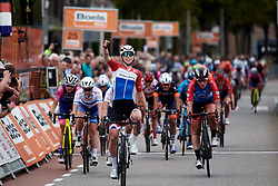 Lorena Wiebes (NED) wins Boels Ladies Tour 2019 - Stage 1, a 123 km road race from Stramproy to Weert, Netherlands on September 4, 2019. Photo by Sean Robinson/velofocus.com