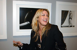MISS GEORGINA COHEN at a private view of an exhibition of photographs by the late Robert Mapplethorpe curated by artist David Hockney at the Alison Jacques Gallery, 4 Clifford Street, London W1 on 13th January 2005.<br />