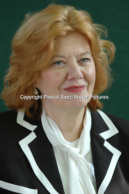 British crime writer Anne Perry at the Edinburgh International Book Festival.<br /> <br /> Copyright Pascal Saez/Writer Pictures<br /> <br /> contact +44 (0)20 8241 0039<br /> sales@writerpictures.com<br /> www.writerpictures.com