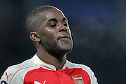 Joel Campbell (Arsenal) during the The FA Cup fifth round match between Hull City and Arsenal at the KC Stadium, Kingston upon Hull, England on 8 March 2016. Photo by Mark P Doherty.