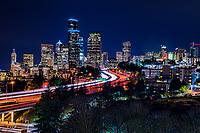 Seattle Skyline & Interstate 5
