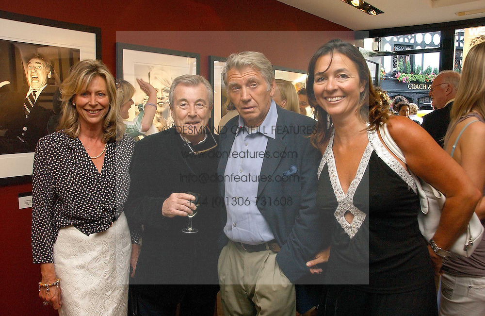 Left to right, LARAINE ASHTON, TERRY O'NEILL, DON MCCULLIN and his wife KATHERINE FAIRWEATHER at an exhibition of photographs by David Montgomery entitled 'Shutterbug' held at Scream, 34 Bruton Street, London W1 on 13th July 2006.<br /><br />NON EXCLUSIVE - WORLD RIGHTS
