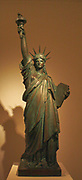 Liberty.  Bronzed terracotta.  Frederic-Auguste Bartholdi (1834-1904) French, 1875.  This figure belongs to an edition of cast terracottas produced after a preliminary model for the Statue of Liberty.