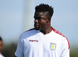 Aston Villa's Micah Richards  - Photo mandatory by-line: Joe Meredith/JMP - Mobile: 07966 386802 - 17/07/2015 - SPORT - Football - Albufeira - Estadio Da Nora - Pre-Season Friendly