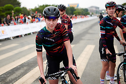 Hannah Ludwig (GER) at GREE Tour of Guangxi Women's WorldTour 2019 a 145.8 km road race in Guilin, China on October 22, 2019. Photo by Sean Robinson/velofocus.com