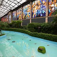 Toluca, México.- El Gobierno del Estado de México anunció la remodelación del Jardín Botánico Cosmovitral, en donde se inverirán 32 millones de pesos, durante 100 días estará cerrado al público a partir del 24 de agosto.  Agencia MVT / Crisanta Espinosa