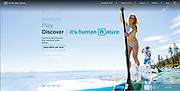 Website Landing Page<br />