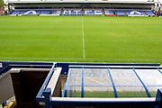 general view of  Moss Rose Stadium. EFL Sky Bet League 2 match between Macclesfield Town and Colchester United at Moss Rose, Macclesfield, United Kingdom on 28 September 2019.