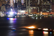Fire on Hudson River