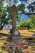 Father Damien Memorial, Kalaupapa Peninsula, Molokai, Hawaii