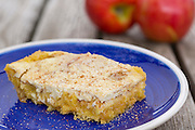 Apple Kuchen prepared by Erin Marshal in Rogers, Arkansas.<br /> <br /> Photo by Beth Hall