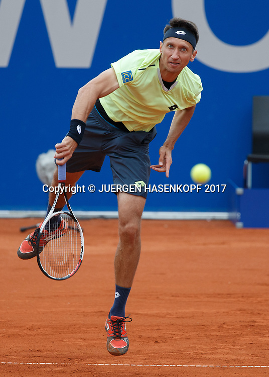SERGIY STAKHOVSKY (UKR)<br /> <br /> Tennis - BMW Open2017 -  ATP  -  MTTC Iphitos - Munich -  - Germany  - 1 May 2017.