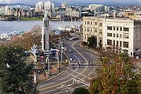 Intersection, Wharf & Government Streets, Victoria, British Columbia, Canada