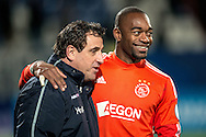 Onderwerp/Subject: Willem II - Ajax - Eredivisie<br /> Reklame:  <br /> Club/Team/Country: <br /> Seizoen/Season: 2012/2013<br /> FOTO/PHOTO: Condition Trainer Henri VAN AMELSFORT (L) of Willem II and Goalkeeper Kenneth VERMEER (R) of Ajax. (Photo by PICS UNITED)<br /> <br /> Trefwoorden/Keywords: <br /> #02 $94 ±1342782825903<br /> Photo- & Copyrights © PICS UNITED <br /> P.O. Box 7164 - 5605 BE  EINDHOVEN (THE NETHERLANDS) <br /> Phone +31 (0)40 296 28 00 <br /> Fax +31 (0) 40 248 47 43 <br /> http://www.pics-united.com <br /> e-mail : sales@pics-united.com (If you would like to raise any issues regarding any aspects of products / service of PICS UNITED) or <br /> e-mail : sales@pics-united.com   <br /> <br /> ATTENTIE: <br /> Publicatie ook bij aanbieding door derden is slechts toegestaan na verkregen toestemming van Pics United. <br /> VOLLEDIGE NAAMSVERMELDING IS VERPLICHT! (© PICS UNITED/Naam Fotograaf, zie veld 4 van de bestandsinfo 'credits') <br /> ATTENTION:  <br /> © Pics United. Reproduction/publication of this photo by any parties is only permitted after authorisation is sought and obtained from  PICS UNITED- THE NETHERLANDS
