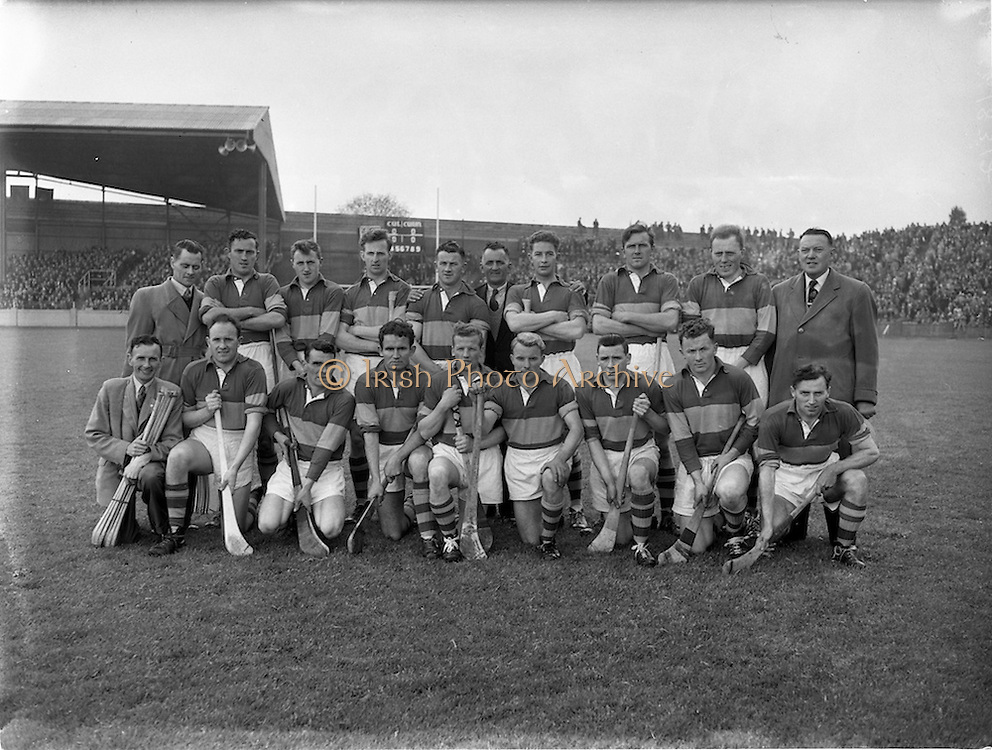 12/05/1957<br /> 05/12/1957<br /> 12 May 1957<br /> National Hurling League Finals: Kilkenny v Tipperary at Croke Park, Dublin. Tipperary Team.