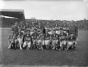 12/05/1957<br /> 05/12/1957<br /> 12 May 1957<br /> National Hurling League Finals: Kilkenny v Tipperary at Croke Park, Dublin. Tipperary Team.