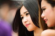 November 16-20, 2016: Macau Grand Prix. Grid Girl