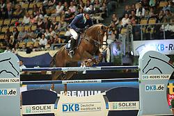Van Der Schans Wout Jan, (NED), Aquila SFN<br /> Champion von München<br />  Jumping München 2015<br /> © Hippo Foto - Stefan Lafrentz