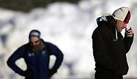 Skøyter<br /> NM sprint Valle Hovin<br /> 04.01.09<br /> Landslagstrener Peter Mueller<br /> Foto - Kasper Wikestad